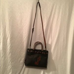 Dooney & Bourke leather handbag NWT, dust bag, blk